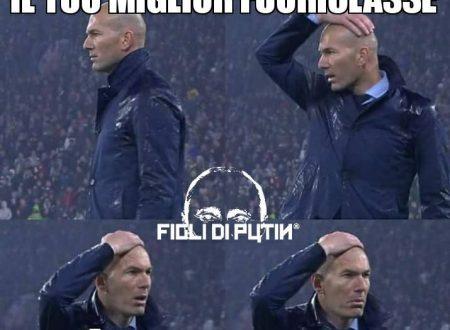 Arbitro fuoriclasse: Zidane si mette le mani ai capelli