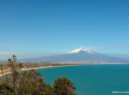 Etna – veduta del golfo di Catania