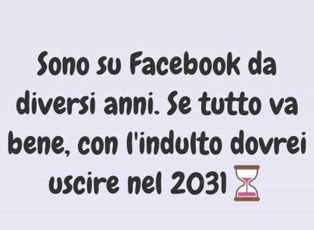 Indulto: esco da Facebook nel 2031