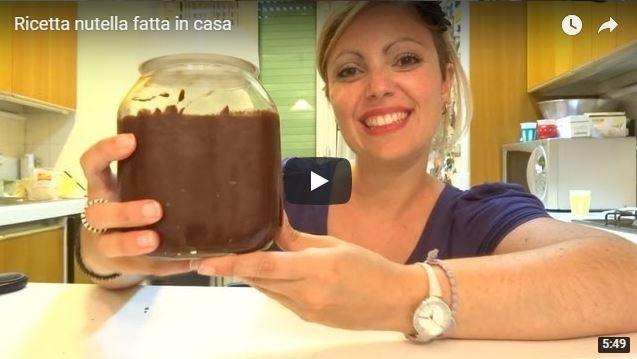 Ricetta nutella fatta in casa – VIDEO