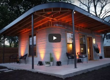 Stampa 3D: si fabbricano anche case!